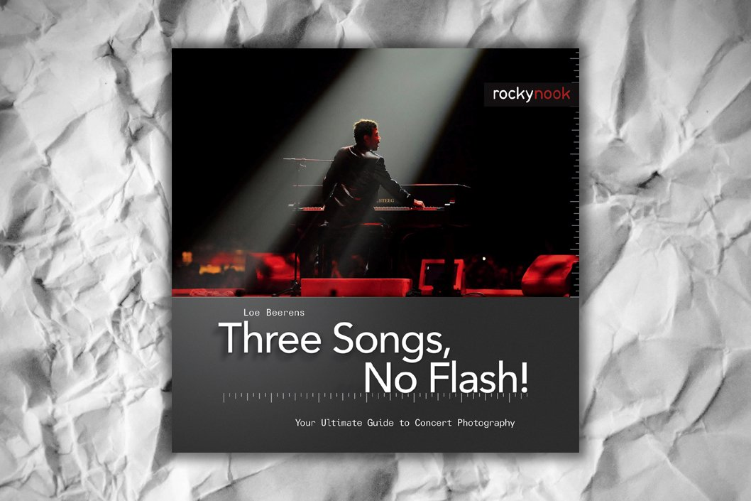Three Songs No Flash! Concert Photography Book Review